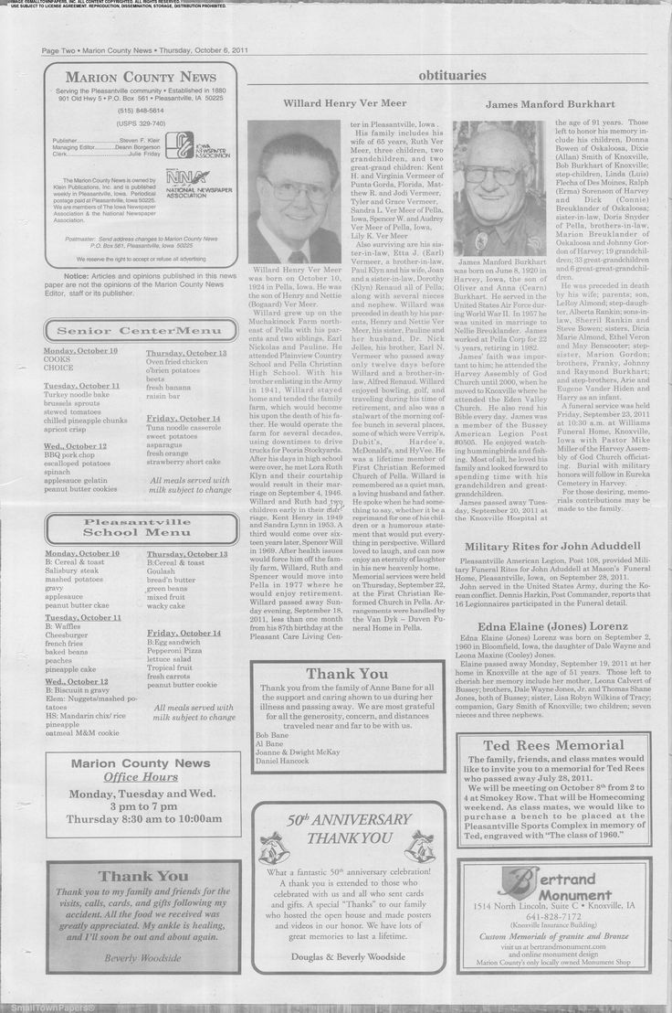Marion County News -- 10/06/2011, Page 2
