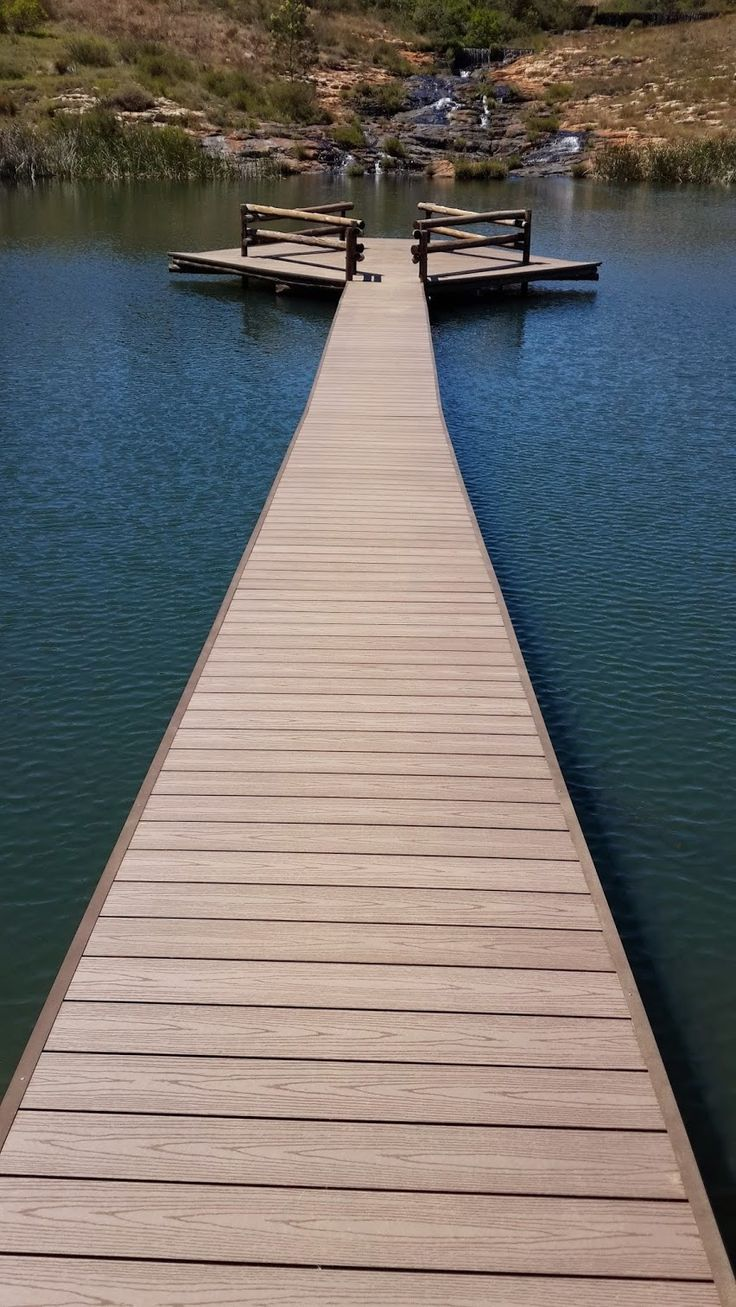 Build a pier with Eva-tech, it's easy. http://www.eva-tech.com/en/