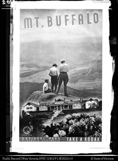 Mount Buffalo poster, Public Transport Corporation Photographic Collection. PROV
