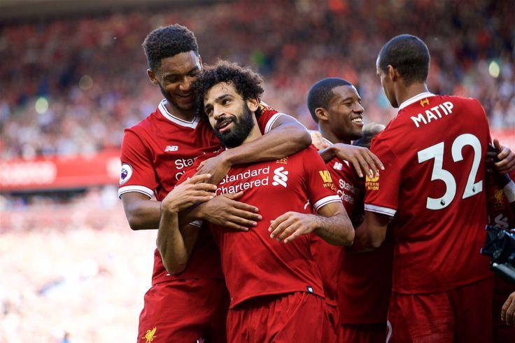 @officiallfc Salah #PL #PremierLeague #LIVARS #LiverpoolArsenal #LFC #Liverpool #LiverpoolFC #Mane #Salah #Firmino #Sturridge #Reds #9ine