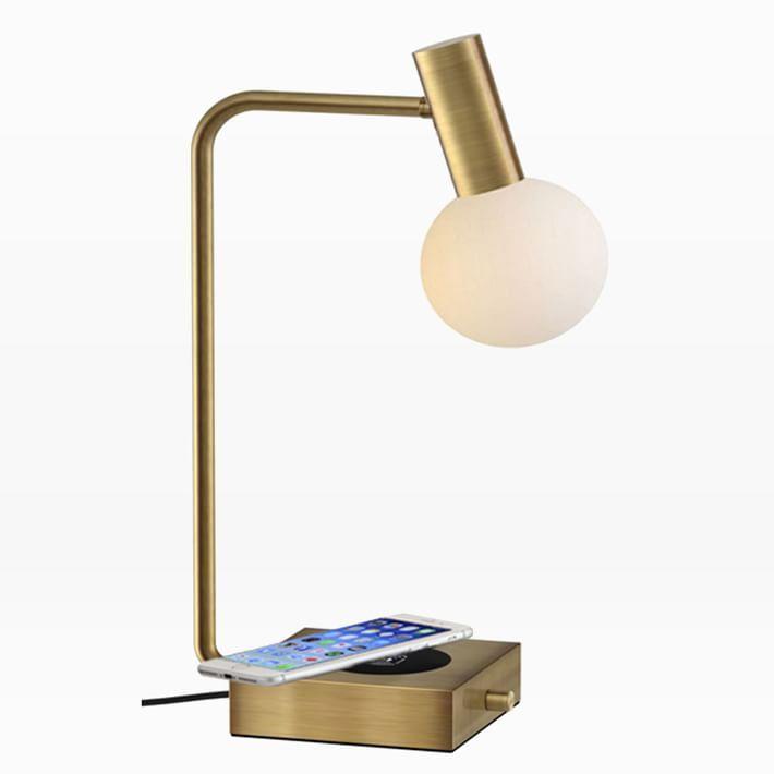 Modern Deco Led Wireless Charging Usb Task Lamp Lamp Modern Deco Table Lamp