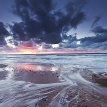 Inverness Beach sunset, Cape Breton Island, Nova Scotia