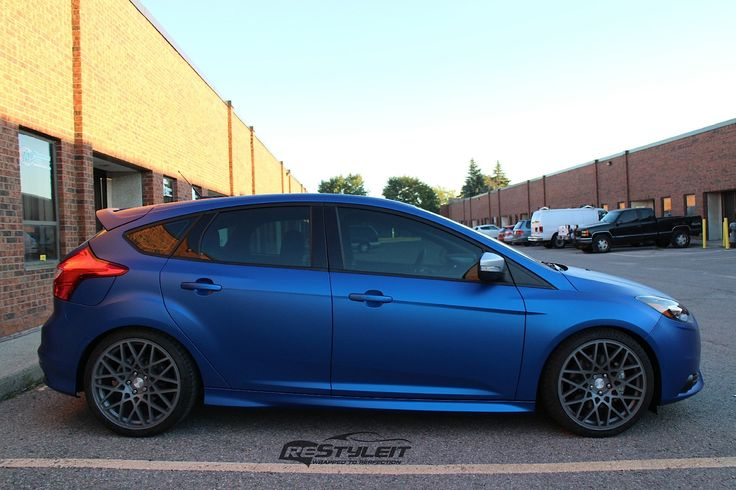 ford focus st mk3 tuning blue and gray rims ford focus. Black Bedroom Furniture Sets. Home Design Ideas