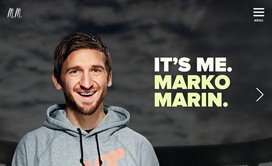 #Featured of the Day 04 Jul 2015 Marko Marin by edgy circle http://www.csslight.com/website/12363/Marko-Marin