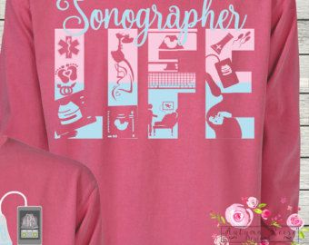 Monogrammed Sonographer Ultrasound by AutumnReeseDesigns on Etsy