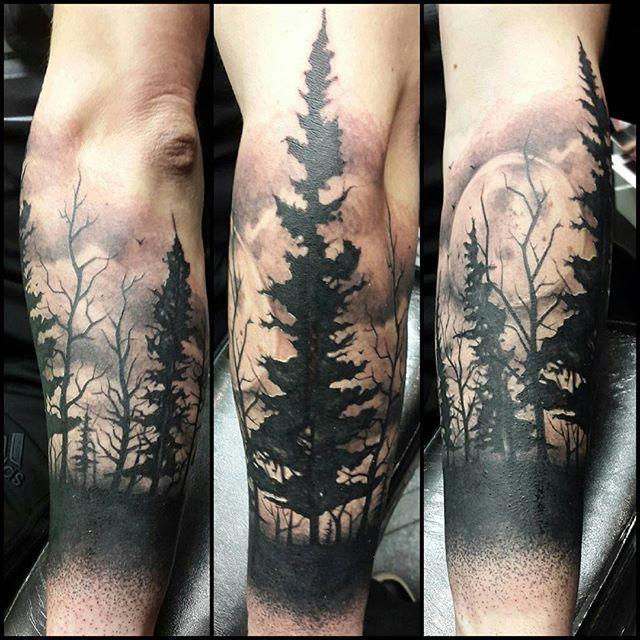 best 25 tree tattoo sleeves ideas on pinterest forest. Black Bedroom Furniture Sets. Home Design Ideas
