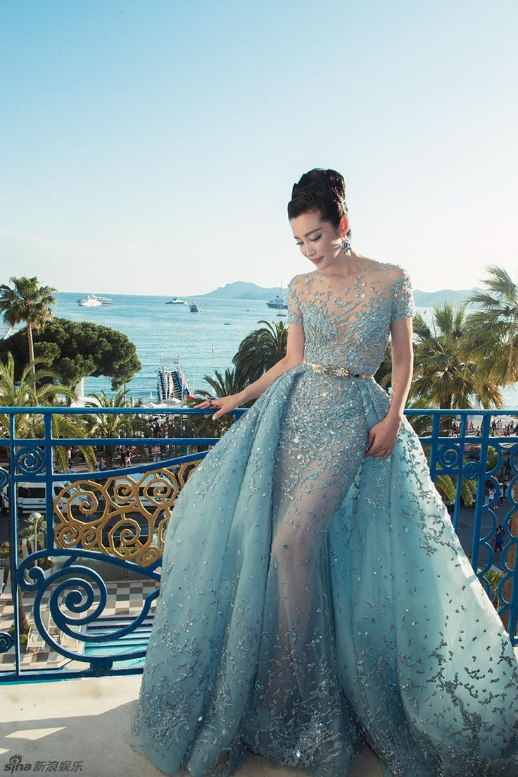 Show your best to all people even in the evening and then get  2015 New Celebrity dress sexy light sky blue short sleeve Jewel brush trainprincess appliquemermaid tulle 85th Cannes awards dress yousef al in louisvuigon and choose wholesale evening dresses usa,floor length evening dresses uk and evening dresses online uk on DHgate.com.