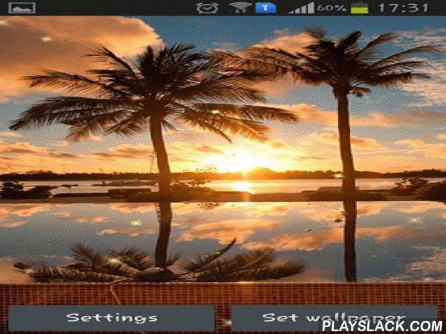 Sunset HD  Android App - playslack.com , Sunset HD - enjoy the nature elegance on the background of sunset. Trees, sea, clouds, stones - everything aquires brand-new color when it is sunset time. Make your desktop a distinctive one!