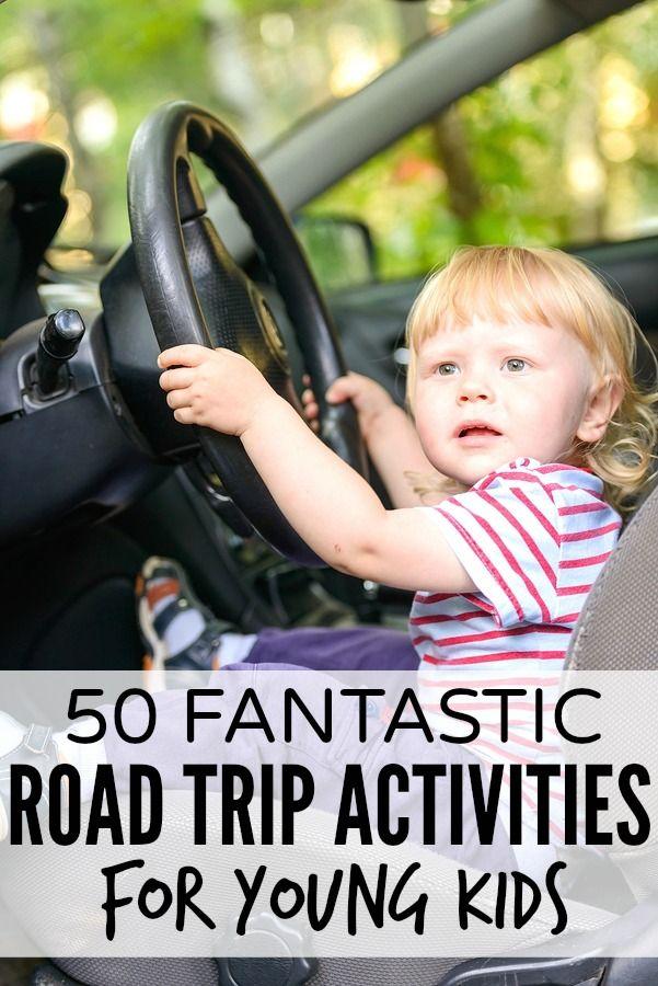 50 fantastic road trip activities for kids