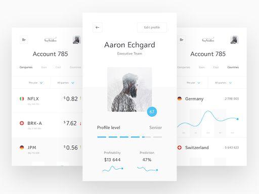 QED - mobile app design