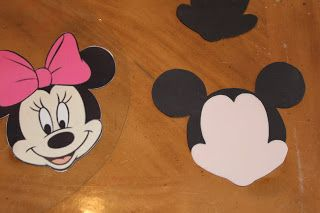 Minnie mouse face tutorial
