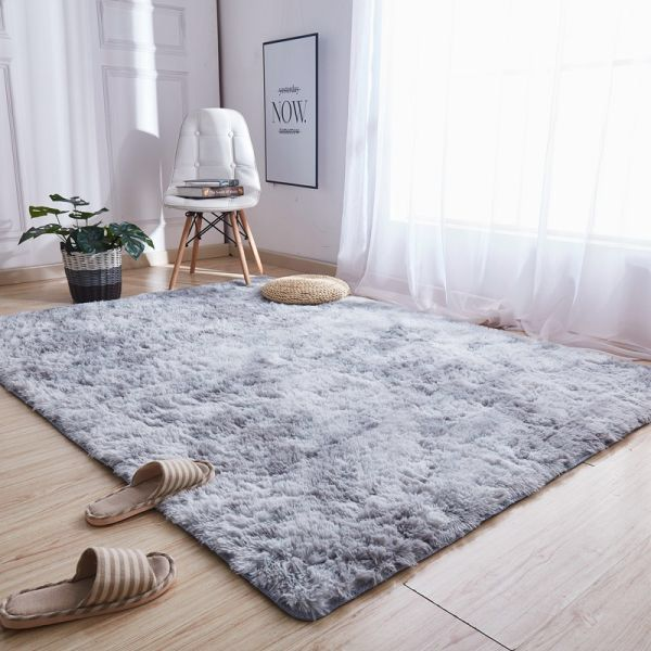us Water Absorb Antiskid Soft Shaggy Home Bathroom Bedroom Floor Mat Carpet