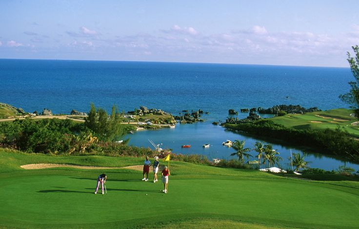 St George's Golf Course #Bermuda #Golf http://www.gotobermuda.it/default/ Sport, Mare