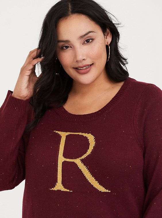 Harry Potter Ron Weasley Burgundy Marled Sweater In 2018 Christmas