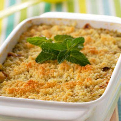 Crumble de courgettes et Serrano au Parmesan : 30 recettes pour famille nombreuse - Journal des Femmes