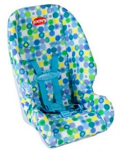 Joovy Baby Doll Booster Car Seat in Blue