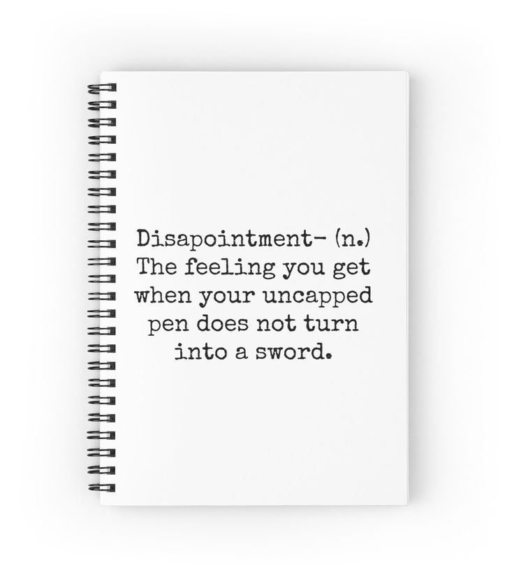 Percy Jackson Disappointment | Spiral Notebook