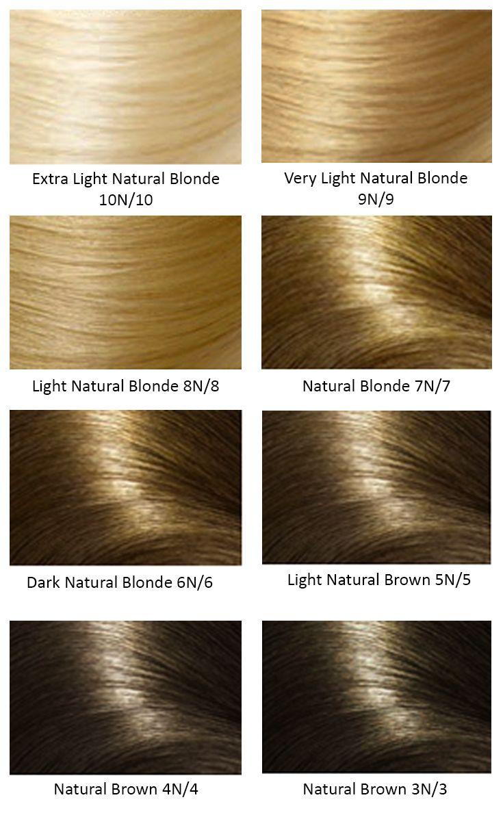 Argan Oil Hair Color Chart - Colors vb salon hair color ...