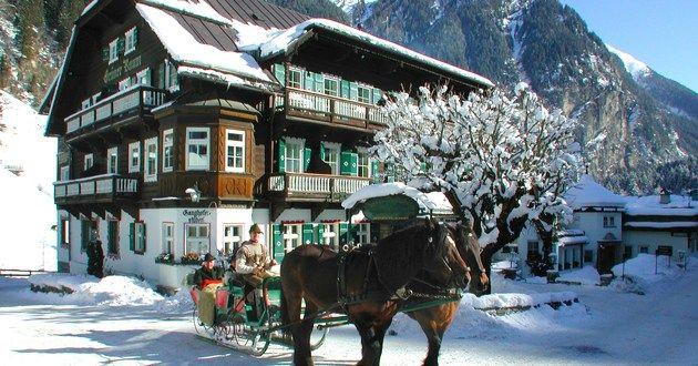 Hoteldorf Grüner Baum in Bad Gastein, Austria