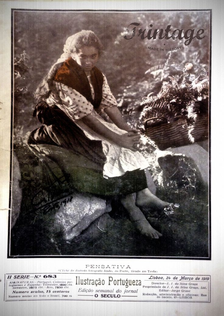 Pensativa, Ilustração Portugueza 2ºserie,1919