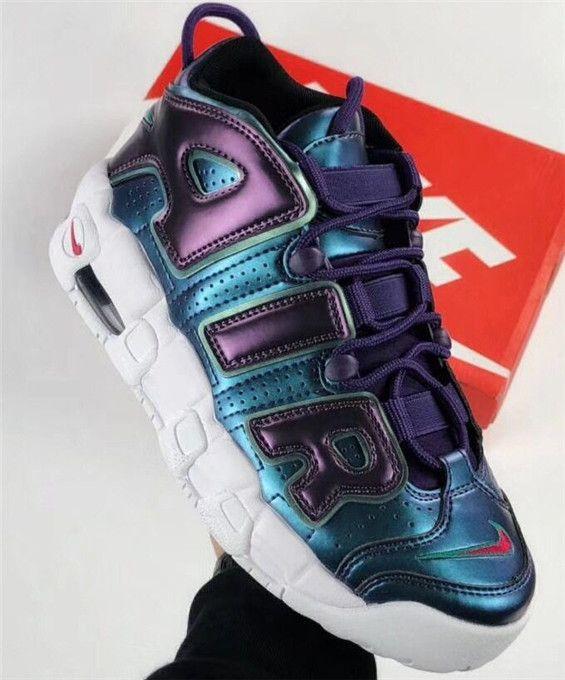 official photos 3a5ba 875be Top Nike Air More Uptempo GS Purple Iridescent 922845-500
