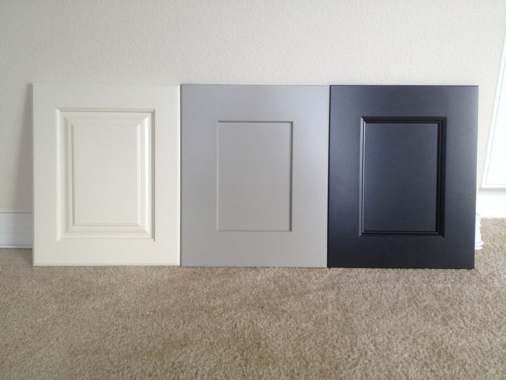 door style oxford paint color dover white door style lancaster paint color dorian gray door style aspen paint color black magic all three paints are - Grey Paint Sherwin Williams