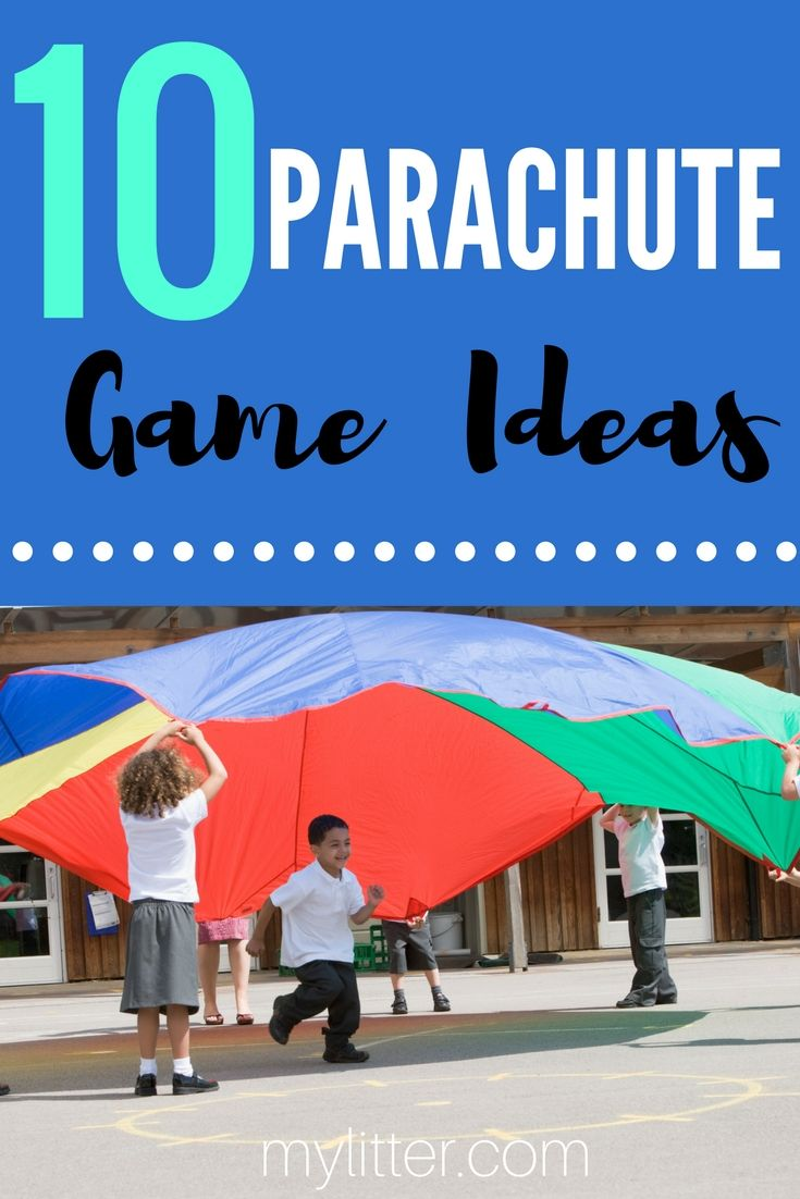 I loved when we had parachute day in gym as a child - and I can still remember some of the parachute games we played as a class.  With the kids being on electronics SO often these days - I was thinking this summer it might be fun to get a parachute and teach them some of those games! You can pic…