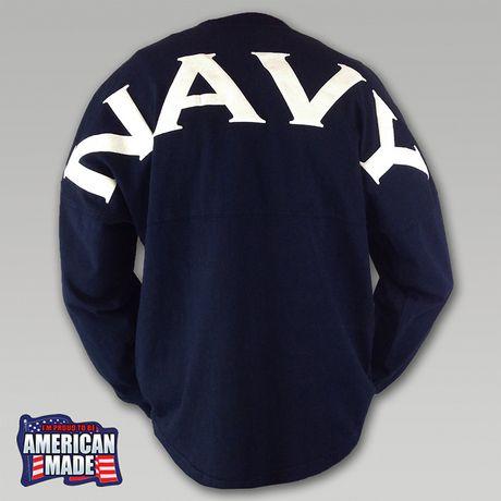 Navy Football Spirit Jersey | ArmedForcesGear.com