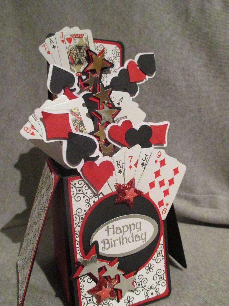 poker themed box card Kortit