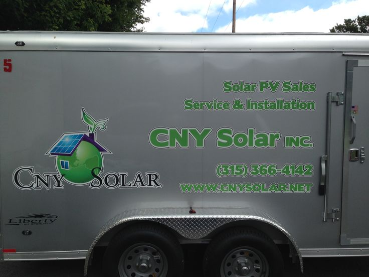 Business signs custom labels lettering solar power graphics vehicle stickers window check