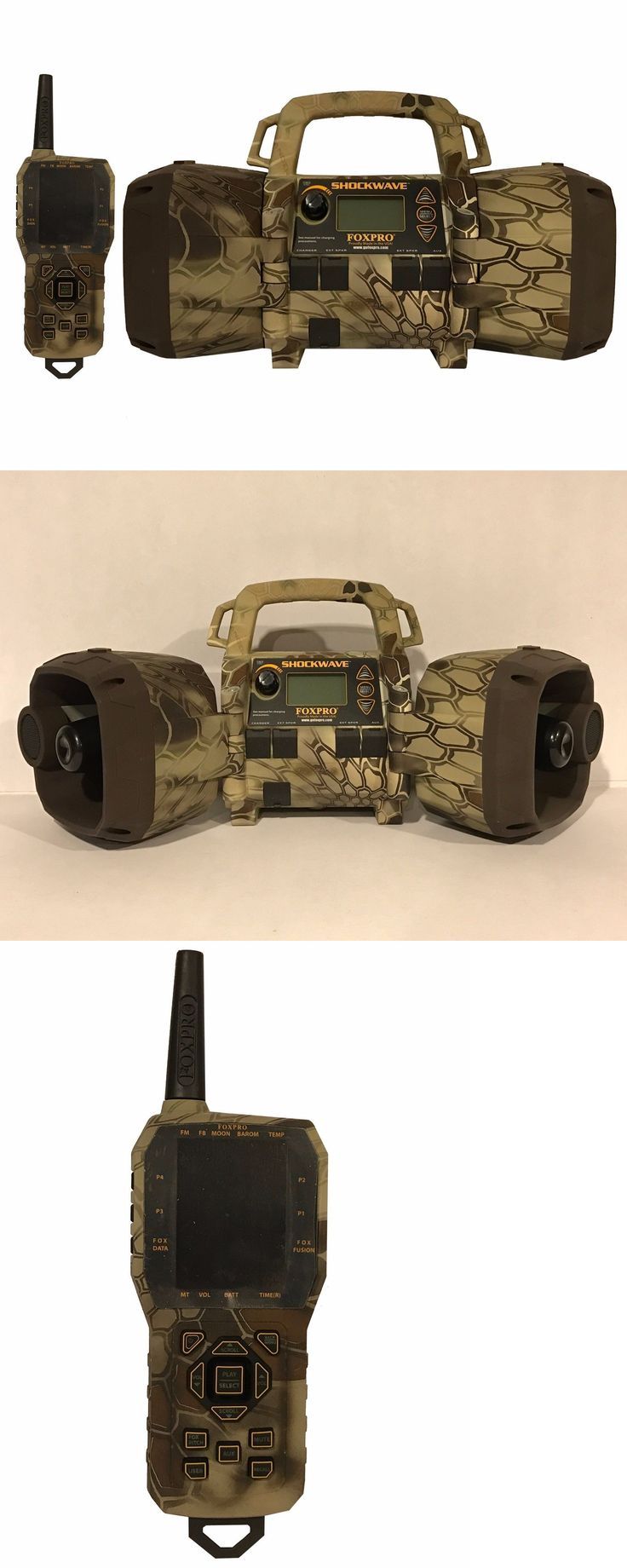 Game Calls 36252: Foxpro Shockwave Electronic Predator Game Call Kryptek Highlander Camo Exclusive BUY IT NOW ONLY: $625.0