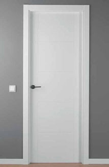 puerta lacada blanca mod. LAC-9204-G