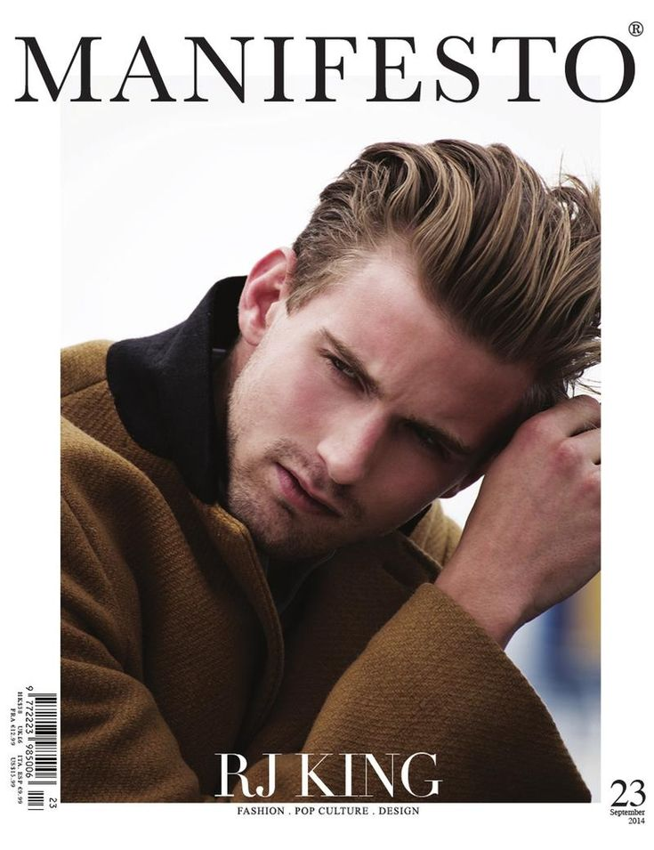 RJ King Covers Manifesto September 2014 Cover image Manifesto RJ King Cover