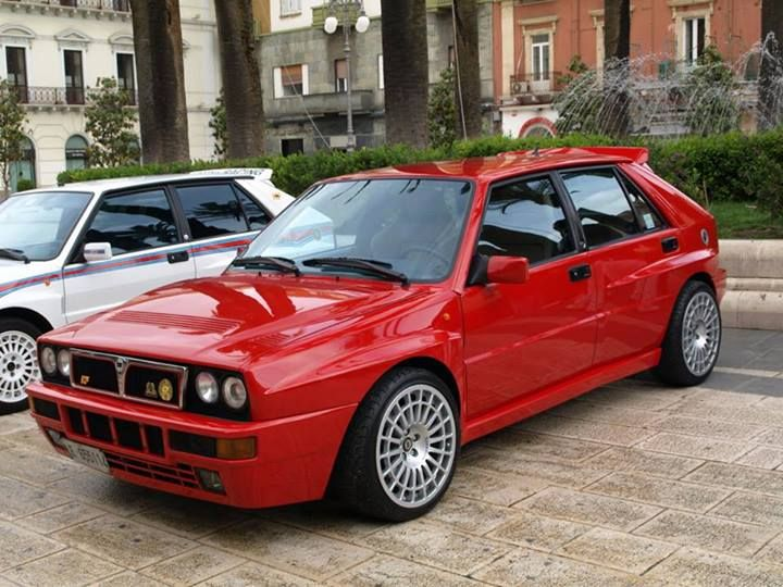 throwback thursdays lancia delta integrale
