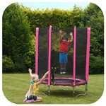 Plum 4.5ft Junior Trampoline Pink