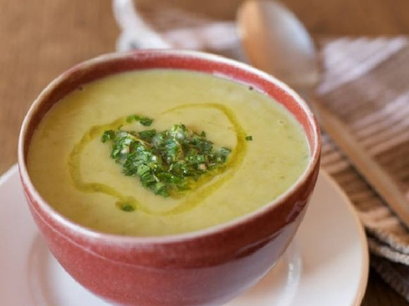 My Fastest Spinach Soup Ever by Julie Daniluk of Meals that Heal Inflammation and The Healhty Gourmet