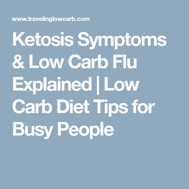 Ketosis Symptoms & Low Carb Flu Explained | Low Carb Diet Tips for Busy People