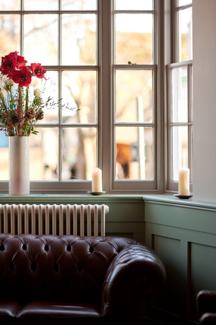 Cosy sofas in the bar at the Blue Boar make for a perfect coffee pit-stop