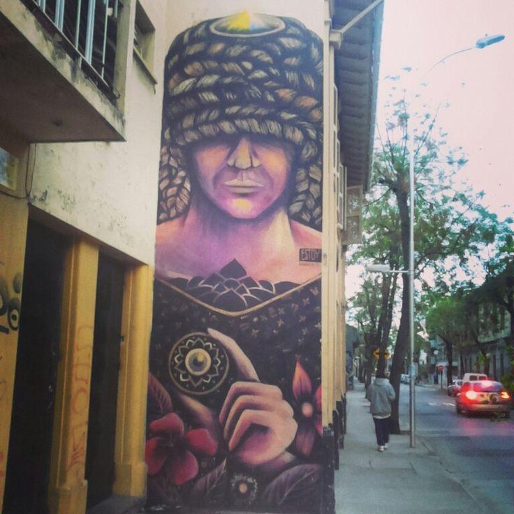 Street Art Chile, Yungay Town Santiago / Arte Callejero Barrio Yungay, Santiago de Chile