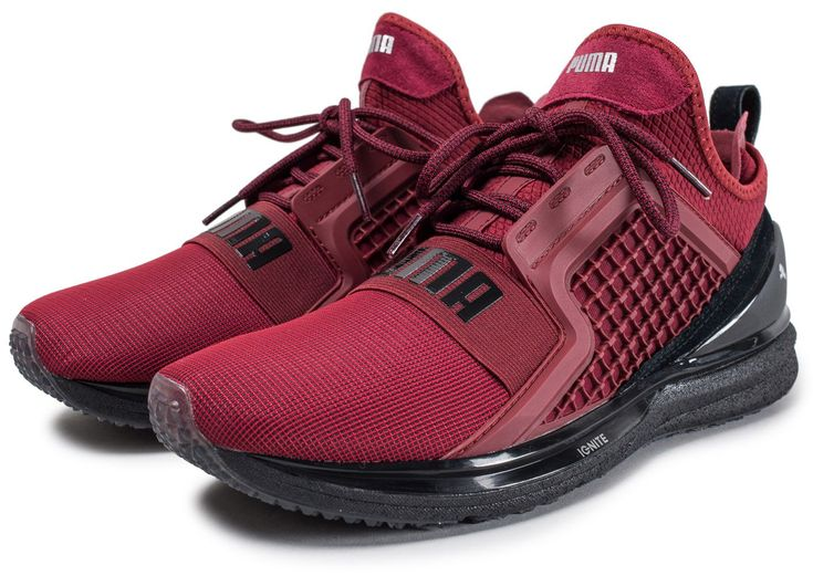 Basket Puma Ignite Limitless Rouge pour Homme. Une sélection Priceminister.