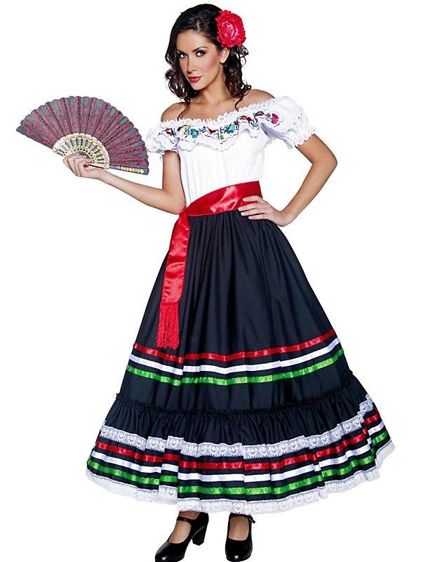 Adult Old West Mexican Senorita | Halloween Costumes
