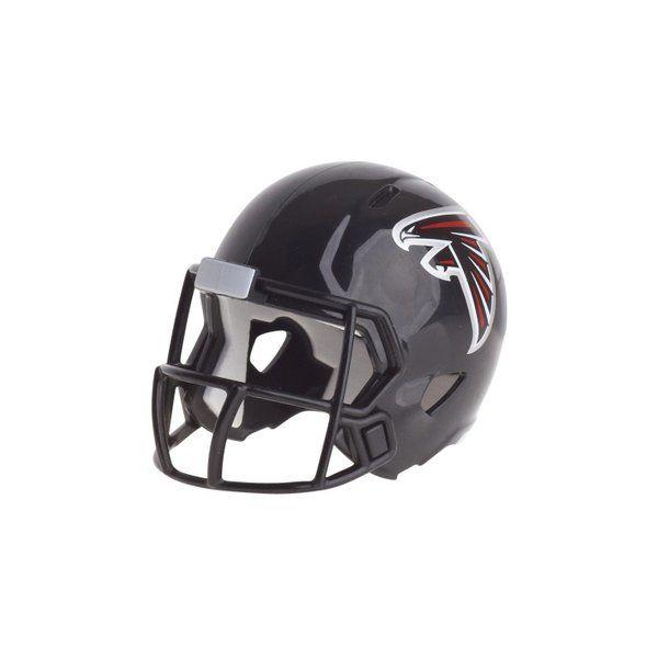 Riddell Speed Pocket Football Helmet Atlanta Falcons Black In 2020 Football Helmets Atlanta Falcons Mini Football Helmet