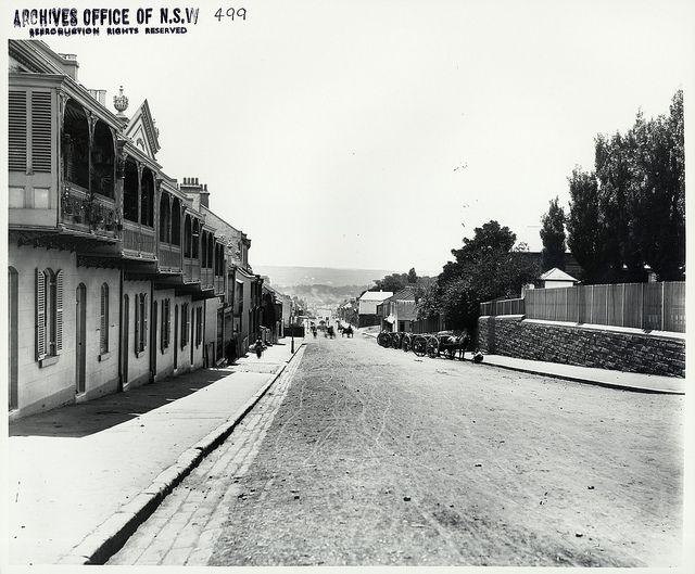 Bourke Street, Darlinghurst, Sydney, NSW. Pre 1900
