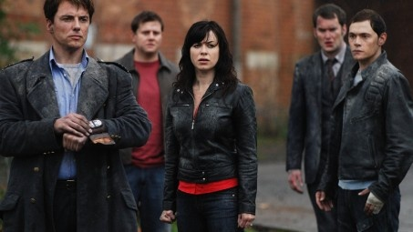 TORCHWOOD!! Excellent show!! Bloody Brilliant!!! Even with the invasion of the Americans (although...I think it would have been better if it had  stayed in Cardiff...but you know them Yanks!!) Worth watching all 4 seasons over and over and over!!