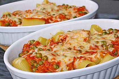 Rigatoni al forno mit Schinken - Sahne - Soße, ein sehr leckeres Rezept aus der Kategorie Gemüse. Bewertungen: 267. Durchschnitt: Ø 4,3.