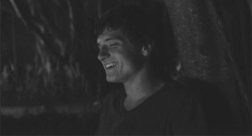 More of Josh Hutcherson's adorable facial expressions (GIF)
