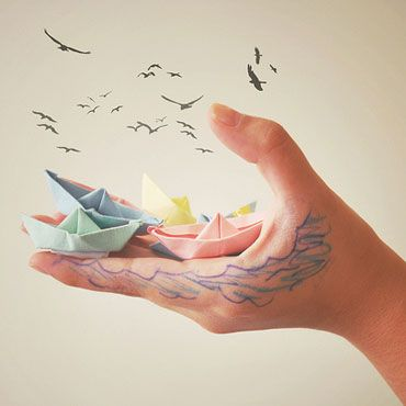 Sea in your hands...