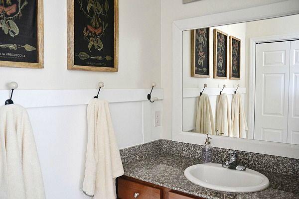 Diy Easy Framed Mirrors: Best 20+ Frame Bathroom Mirrors Ideas On Pinterest