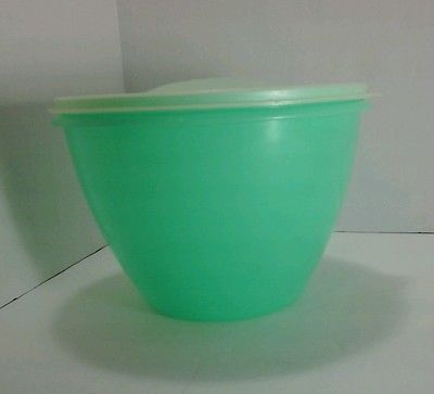 Vintage Tupperware Salad Keeper Crisp It Green