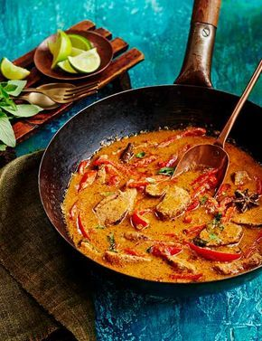 Duck Penang Curry Recipe Our super simple penang curry is packed with punchy flavour. This recipe serves six and can easily be frozen, so get ahead and make this in time for the festive period